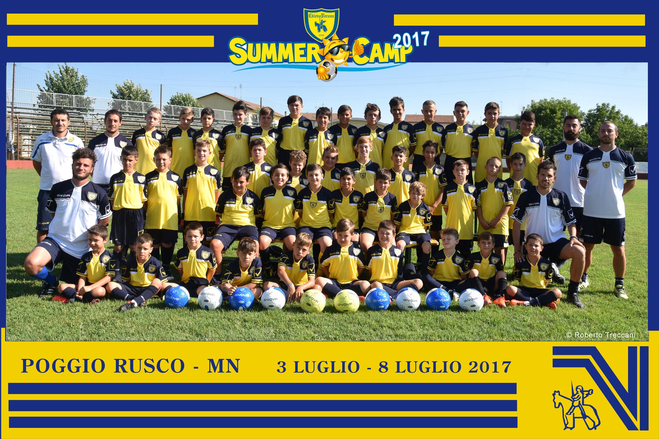 Chiusura SUMMER Camp Chievo Poggio Rusco 2017