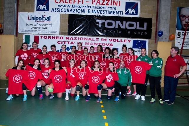 """XV° Torneo Nazionale di Volley Giovanile """"CITTA' DI MANTOVA"""" 2019 CAT.Under 16 femminile"""